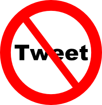 No tweets allowed