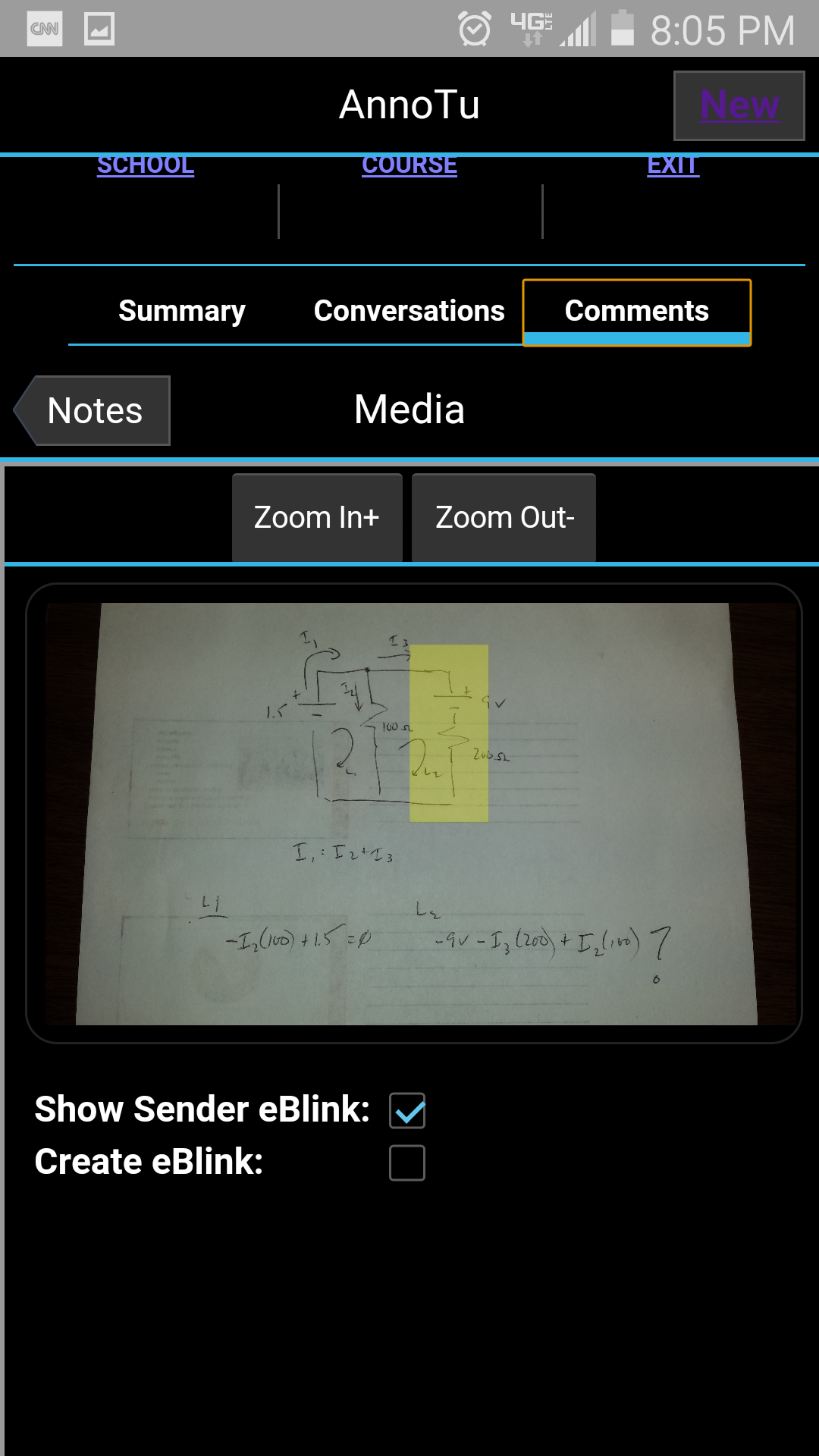 annotu on android